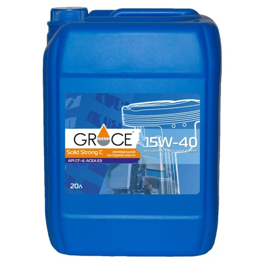 GRACE solid strong C 15W-40